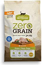 Rachael Ray Nutrish Zero Grain Natural Dry Cat Food, Chicken & Potato Recipe, 3 Pounds, Grain Free