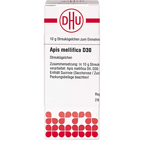 DHU Apis mellifica D30 Streukügelchen, 10 g Globuli