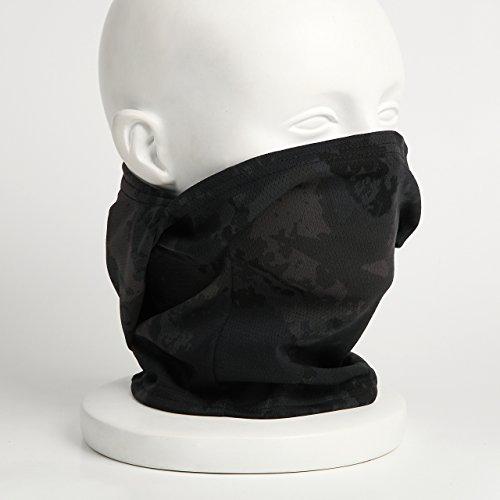 『【ノーブランド品】3Way フェイスマスク アーミー バラクラバ ミリタリー (ブラック迷彩)』の3枚目の画像