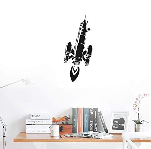 Army Rocket Vinly Sticker Adhesive Wall Art For Children Creative Art décor for boys bedroom