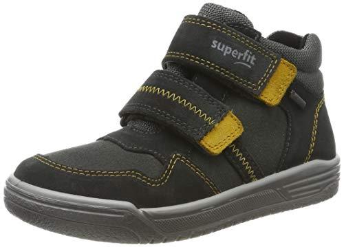 Superfit Jungen EARTH-509057 Hohe Sneaker, Grau (Grau/Gelb 20), 28 EU
