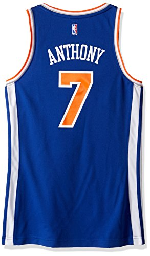 NBA New York Knicks Carmelo Anthony # 7 réplica de la Camiseta de la Mujer, Mujer, Road, Road