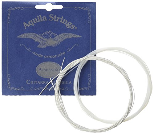 Aquila 20C Alabastro New Nylgut - Cuerdas (tono percusivo, tensión superior)