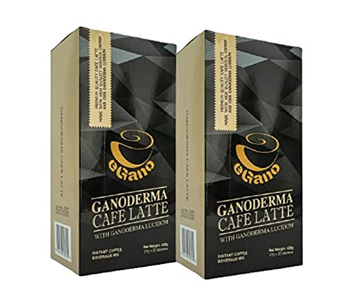 3 cajas de eGano Ganoderma Black Coffee - Café instantáneo