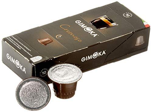 Gimoka Coffee 100 Pack Nespresso kompatible Kapseln, Nespresso Kapseln - Kaffee Kapseln - kompatibel für Nespresso Maschinen - CREMOSO (10 x 10 Kapseln)