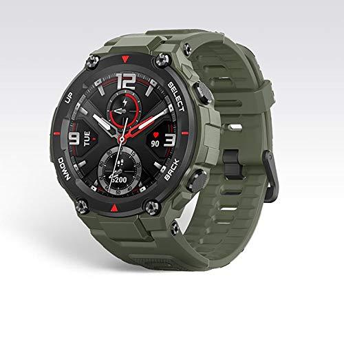 Reloj de ejercicios aeróbicos, certificado por estándares militares, cuerpo robusto, GPS, duración de la batería de 20 días, 5ATM impermeable, 14 modos de ejercicio, monitor de frecuencia card