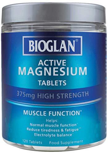 Bioglan Active Magnesium | Ondersteunt Spierfunctie | 120 tabletten, 120 tabletten