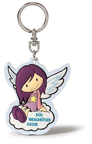Nici 36922 - Schlüsselanhänger - Glücksbringer Engel - Ich beschütze Dich!