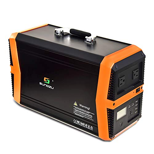 KMASHI Portable Generator, Portable Power Station 1010Wh Solar Generator Emergency Battery Backup Power Supply with 110V/1000W AC Outlet for Home Outdoors Camping Travel