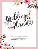 Wedding Planner: Watercolor Flower My Wedding Organizer Budget Savvy Marriage Event Journal Checklist Calendar Notebook: Volume 2
