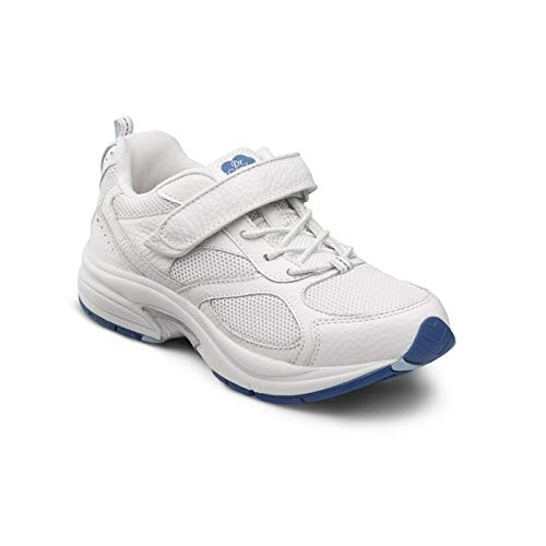 Dr. Comfort Women's Victory White Diabetic Athletic...