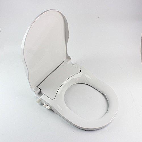 BTdahong WC Sitz O-Form Toilettensitz Wc Sitz Bidet Selbstreinigendes Düsensprüher für Intimpflege Antibakteriell