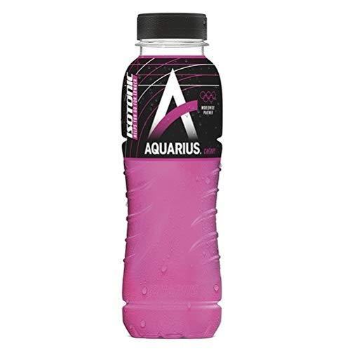 24 x Aquarius Sport Isotonic Cherry PET-Flaschen (24 x 0,33 L) EINWEG inkl. gratis FiveStar Kugelschreiber