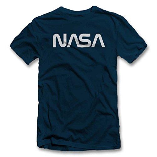 shirtground NASA T-Shirt Dunkelblau-Navy XL