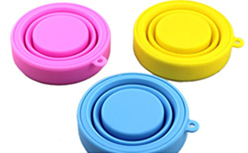 Viskey Cups Outdoor Collapsible Folding Silicone Travel Camping Cup