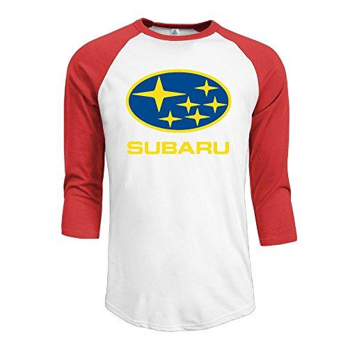 Iyaya Subaru coches de los hombres 3/4Manga Raglán camiseta de béisbol
