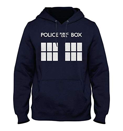Sweat-Shirt Doctor Who - Police Public Call Box