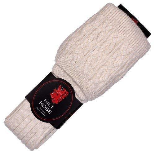 Herren Kiltstr/ümpfe aus Wollmischung W hergestellt im Vereinigten K/önigreich Brewin