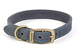 Softer and supple than traditional leather collars Leather is treated with 3m leather protector Soft and supple belt style buckle Designed for dogs that love outdoors