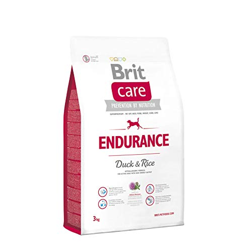 Brit Care Endurance Duck & Rice Activity Hundefutter für aktive Hunde, 12 kg