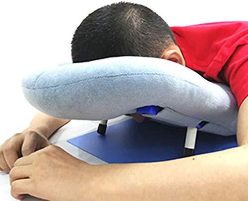 WKDZ Performance, die Sich nach Augenchirurgie entlasten, nach Augenchirurgie, Nickerchenkissen, ergonomische Kopfhals-Restkissen für Retinalablösepatienten während der Erholung 1217 (Color : Grey)