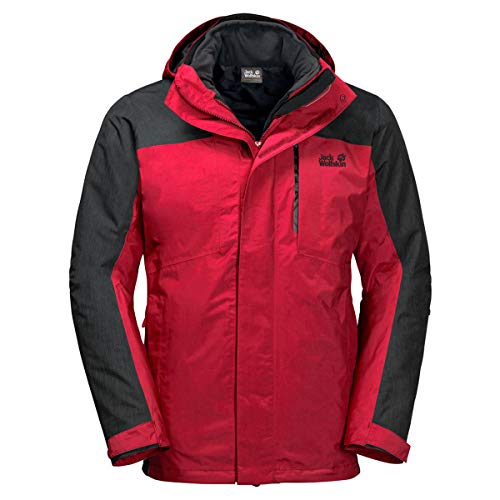 Jack Wolfskin M Viking Sky Rot, Herren General, Größe L - Farbe Red Lacquer