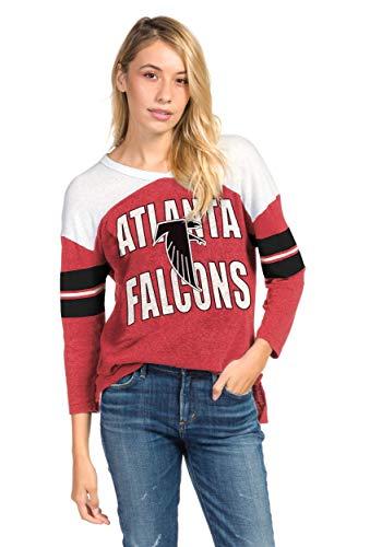 Women's Red Atlanta Falcons