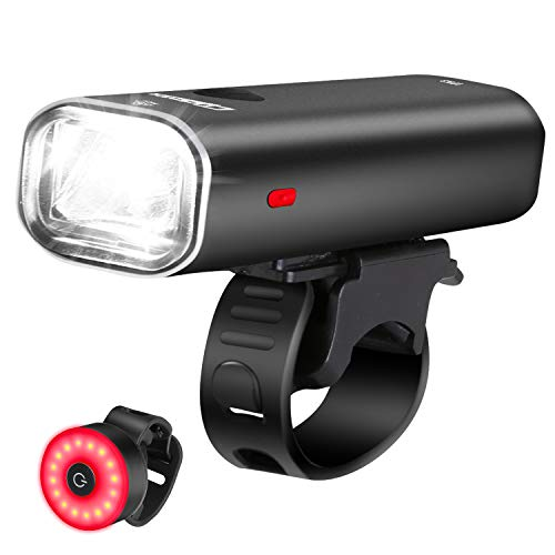 Cycloving Super Bright LED Bike Lights. Cycling Water Resistant Bicycle Headlight and Tail...
