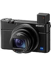 Sony, DSC-RX100M6, Premium, Yüksek Zoom, Kompakt Dijital Kamera,4K HDR Video Kaydı, 24-200mm Yüksek Zoom f2.8-4.5 Zeiss Lens