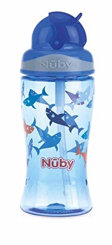 Nûby - Gobelet en Tritan™ Flip-It -360ml-Bleu-3Ans Bleu