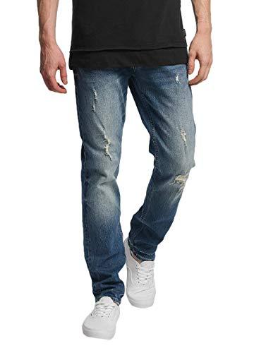 Jack & Jones Jjitim Jjoriginal CR 004 Noos Pantalones Vaqueros Delgados, Azul (Blue Denim), W29/L32 (Talla del Fabricante: 29) para Hombre