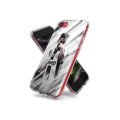 SoYunYlXa Compatible con iPhone 7 Funda, iPhone 8 Funda, Claro Transparente TPU Gel Funda para iPhone 7 / iPhone 8 con Patrón de diseño D#YlX 001