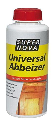 750 ml Super Nova Abbeizer v. Fachhandel, Hochwirksamer Spezialabbeizer entfernt mühelos und schnell Lacke, Kleber, Dispersionen