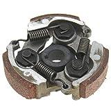 YUNB 3 Stronger Mini Moto Embrague centrífugo Unidad de Placa Muelles Placa Genérico Embrague centrífugo 47cc 49cc