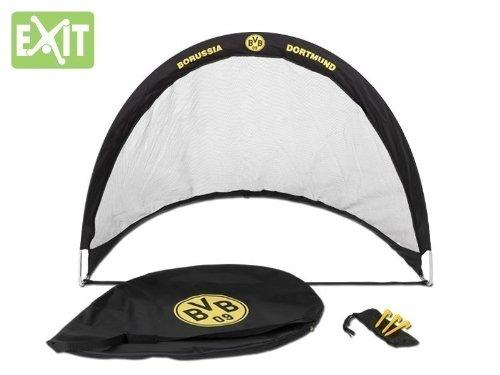 EXIT FLEXX POP-UP GOAL Fußballtor Borussia Dortmund 40.49.09.00 / Falttor / Maße: 120x87x90 cm / Gewicht: 500g