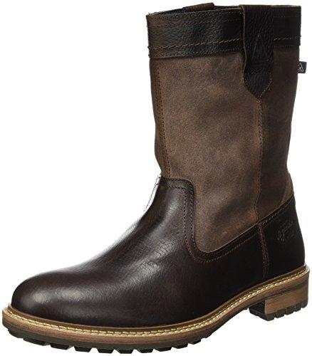 Gaastra Herren Cabin HIGH FUR M Klassische Stiefel, Braun (Dark Brown), 40 EU