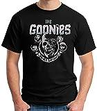 Desconocido 35mm - Camiseta Niño The Goonies - Never Say Die - 80's - EGB - Negro - Talla 9-10 años