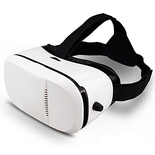 Indigi Nuevo visor de realidad virtual VR6 compatible con Android Galaxy iOS 4.5' a 6'