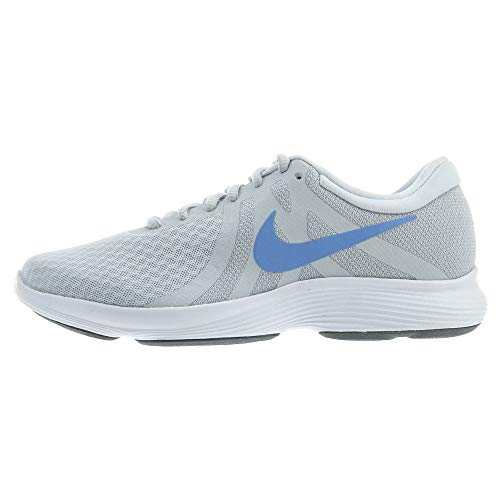 Nike Wmns Revolution 4, Zapatillas de Running para Mujer, Gris (Pure Platinum/Royal Pulse/Wolf Grey 013), 44 EU