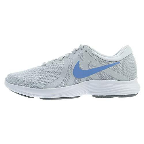 Nike Wmns Revolution 4, Zapatillas de Running para Mujer, Gris (Pure Platinum/Royal Pulse/Wolf Grey 013), 44.5 EU