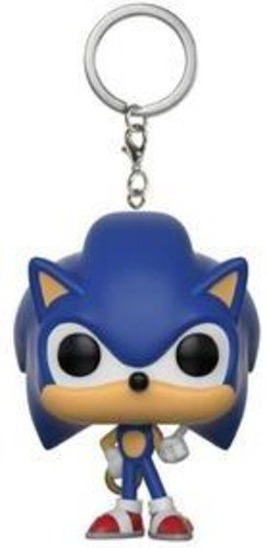Funko 20289 Pocket POP Keychain: Sonic: Sonic with Ring