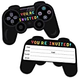 30 Video Game Birthday Party Invitations with...