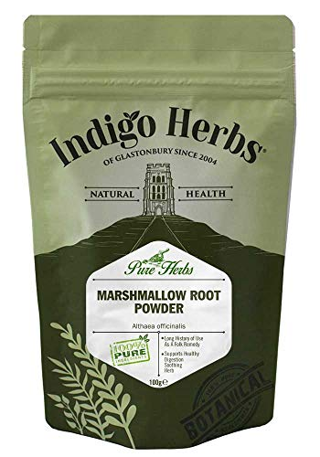 Indigo Herbs Poudre de Racine de Guimauve 100g