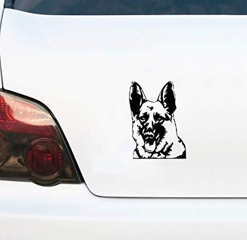 Duitse schaaferhond sticker persoonlijkheid auto sticker auto vrachtwagen accessoire 11,7 x 16 cm voor auto laptop raam sticker