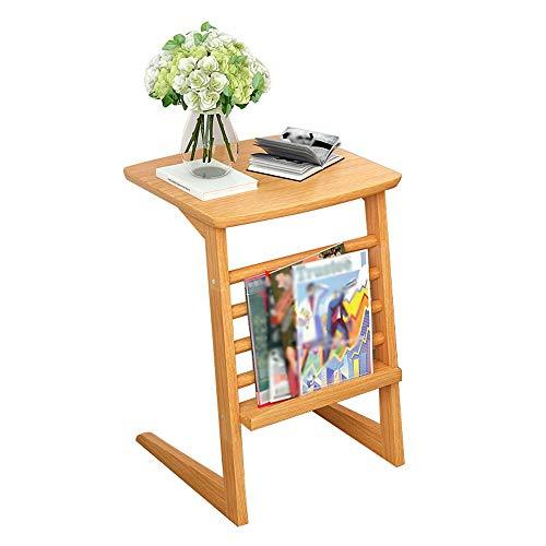 Table d'appoint Table basse Table de chevet en bois massif Salon Côté chambre Mini moderne Petit carré