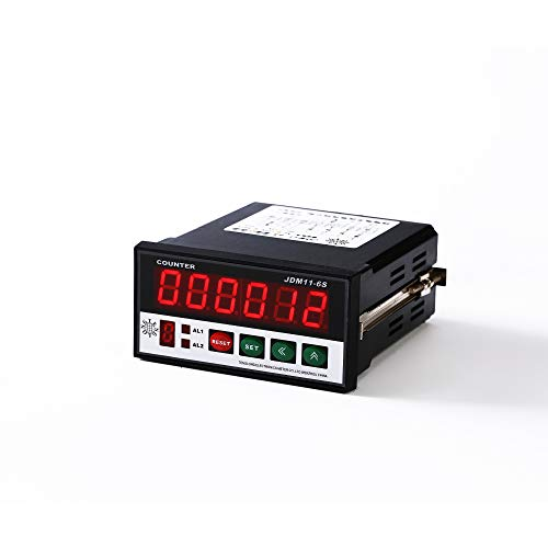 NGTENGLO Digital Length Meter Counter Length Measuring Wheels with Control Function Accuracy in 1 Millimeter 110-240VAC