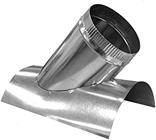 Duct Outlet 45 Degree Saddletap Round HVAC (8