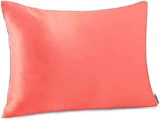 Shhh Silk Coral Travel Size Silk Pillow