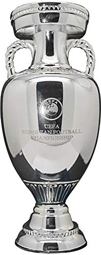 UEFA Euro 2020 Trophy Replica 150mm Unisex Volwassen Grijs 150mm