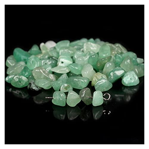 Houren Natural Irregular Grava Piedras Pájaros Chips 5-8mm Amatistas Crystal Turquolses Garnet Accesorios para la fabricación de joyería de Bricolaje (Color : Amethyst, Tamaño : 5-8mm 40cm)